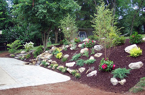 Backyard Hill Makeover :  Landscaping Hills 3 Tips For A Beautiful Panorama Hill on Pinterest